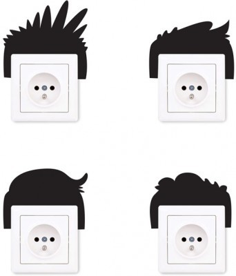 Hairs, Διάφορα, Αυτοκόλλητα πρίζας