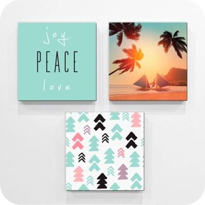 Joy ..Peace..Love, Διάφορα, Mini Set καμβάς