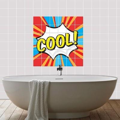 Cool!, Φωτογραφίες, Αυτοκόλλητα πλακάκια