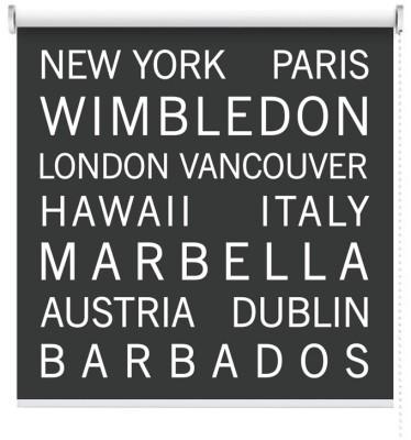 Διάσημες πόλεις, Φράσεις, Ρολοκουρτίνες