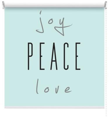 Joy, Love, Piece, Φράσεις, Ρολοκουρτίνες