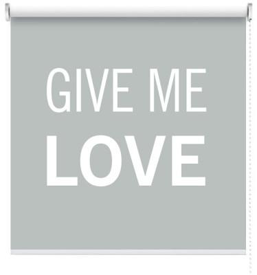 Give me Love, Φράσεις, Ρολοκουρτίνες