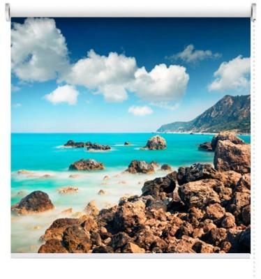 Παραλία Αβαλί, Λευκάδα, Φύση, Ρολοκουρτίνες