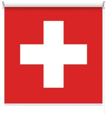 Ελβετία, Σημαίες του κόσμου, Ρολοκουρτίνες