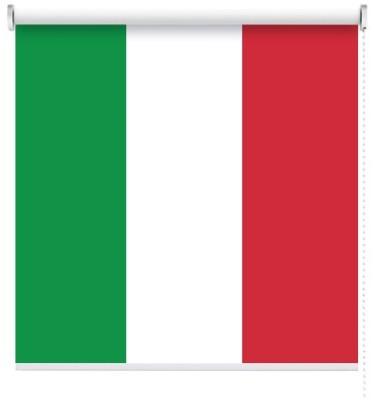 Ιταλία, Σημαίες του κόσμου, Ρολοκουρτίνες