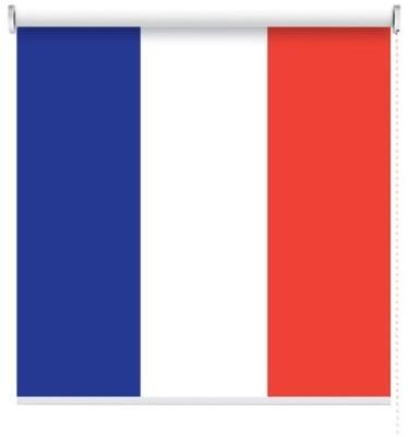 Γαλλία, Σημαίες του κόσμου, Ρολοκουρτίνες