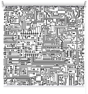 Πλακέτα, Τεχνολογία - 3D, Ρολοκουρτίνες