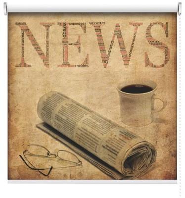 Παλιά Εφημερίδα, Vintage, Ρολοκουρτίνες