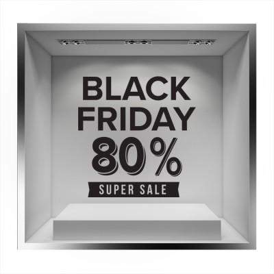 Black Friday Super Sale, Εκπτωτικά, Αυτοκόλλητα βιτρίνας