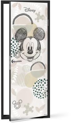 Σκίτσο με τον Mickey Παιδικά Αυτοκόλλητα πόρτας 60 x 170 εκ.