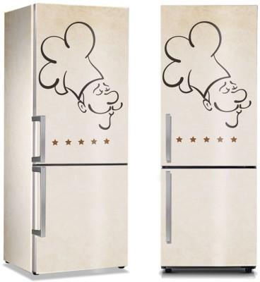 Menu Φαγητό Αυτοκόλλητα ψυγείου 50 x 85 εκ.