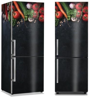 Βασικά Υλικά Φαγητό Αυτοκόλλητα ψυγείου 50 x 85 εκ.
