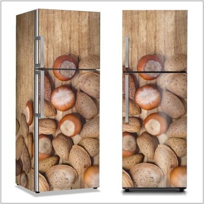 Αμύγδαλα Φαγητό Αυτοκόλλητα ψυγείου 50 x 85 εκ.