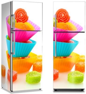 Καραμέλες ζελεδάκια Φαγητό Αυτοκόλλητα ψυγείου 50 x 85 εκ.