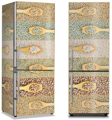 Όσπρια , κουτάλα Φαγητό Αυτοκόλλητα ψυγείου 50 x 85 εκ.