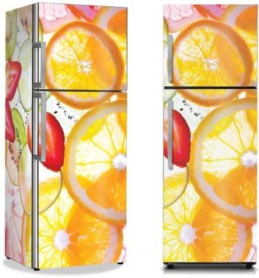 Φέτες φρούτων Φαγητό Αυτοκόλλητα ψυγείου 50 x 85 εκ.