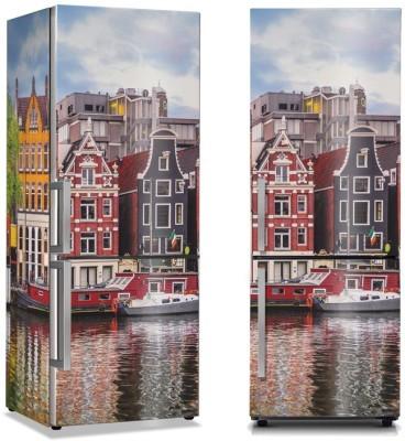Άμστερνταμ Φύση Αυτοκόλλητα ψυγείου 50 x 85 εκ.