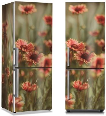 Λουλουδάκια Φύση Αυτοκόλλητα ψυγείου 50 x 85 εκ.