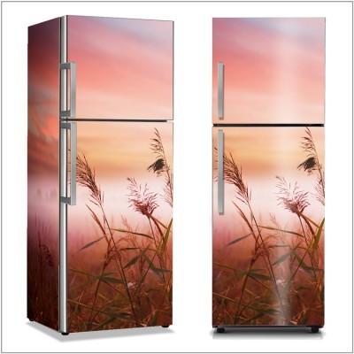 Πρωινή ομίχλη Φύση Αυτοκόλλητα ψυγείου 50 x 85 εκ.