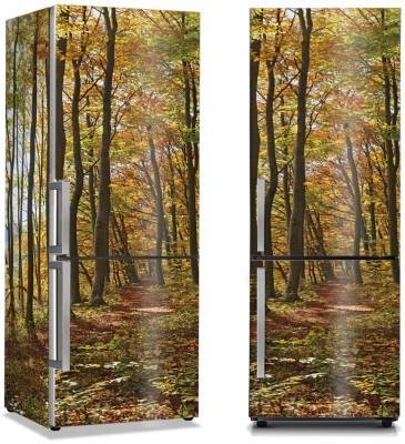 Δέντρα στο βουνό Φύση Αυτοκόλλητα ψυγείου 50 x 85 εκ.
