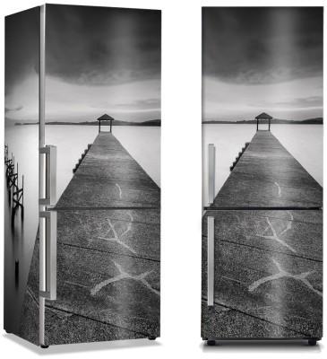 Μουντός καιρός στη θάλασσα Φύση Αυτοκόλλητα ψυγείου 50 x 85 εκ.