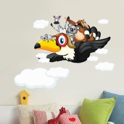 Ώρα για πτήση Παιδικά Αυτοκόλλητα τοίχου 65 x 48 εκ.