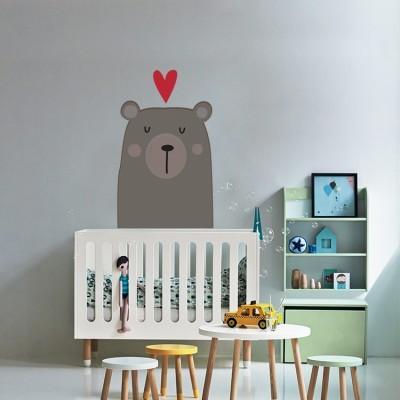 Χαριτωμένο Αρκουδάκι, Παιδικά, Αυτοκόλλητα τοίχου