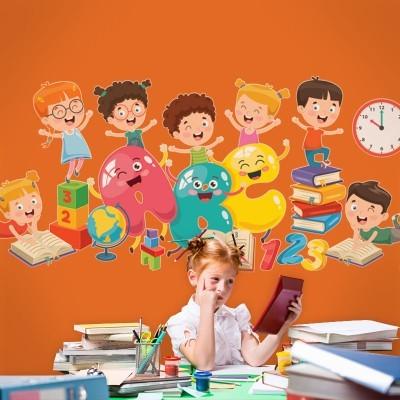 ABC.., Παιδικά, Αυτοκόλλητα τοίχου