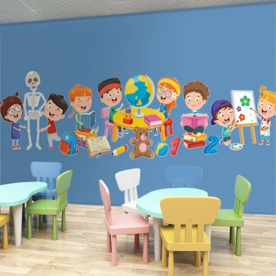 Ώρα για γνώση, Παιδικά, Αυτοκόλλητα τοίχου