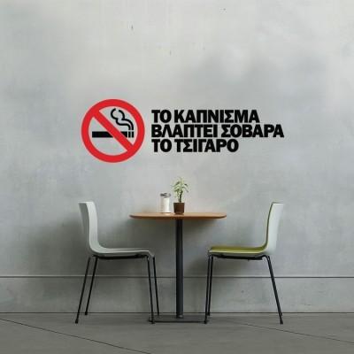 Το κάπνισμα βλάπτει...
