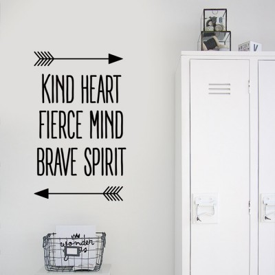 Kind Heart, Φράσεις, Αυτοκόλλητα τοίχου