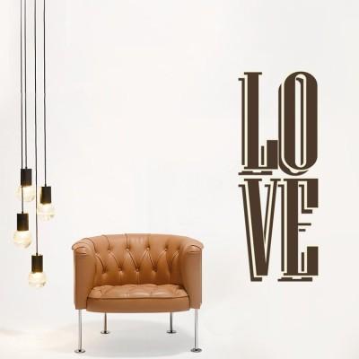 Aγάπη Φράσεις Αυτοκόλλητα τοίχου 30 x 81 εκ.