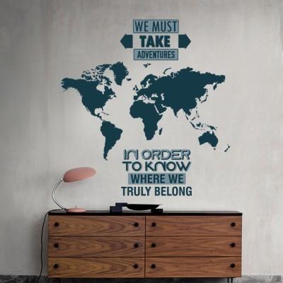 We must take adventures, Φράσεις, Αυτοκόλλητα τοίχου