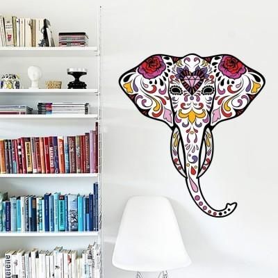 Ελέφαντας με λουλούδια, Διάφορα, Αυτοκόλλητα τοίχου