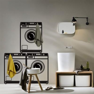 Πλυντήρια, Κρεμάστρες, Αυτοκόλλητα τοίχου