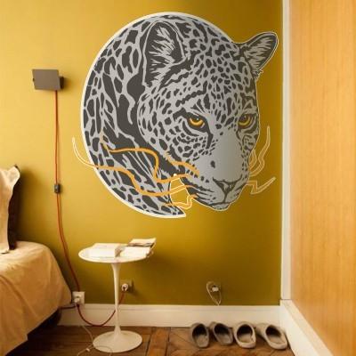 Τίγρης-2 Ζώα Αυτοκόλλητα τοίχου 70 x 70 εκ.