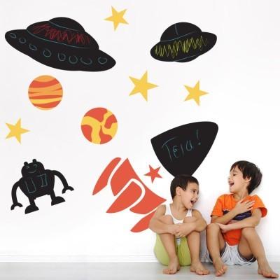 Διάστημα, Μαυροπίνακες, Αυτοκόλλητα τοίχου