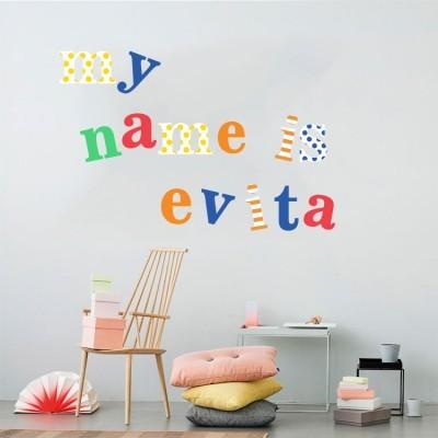 Αγγλικό Αλφάβητο, Παιδικά, Mini Pack αυτοκόλλητα
