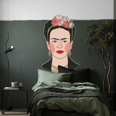 Φρίντα Κάλο-2, Φιγούρες, Αυτοκόλλητα τοίχου