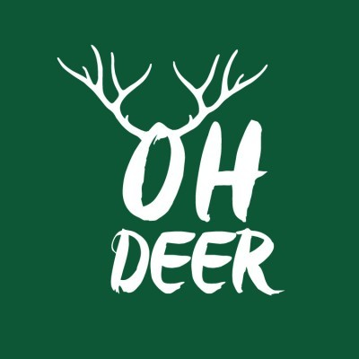 Oh deer, Χριστουγεννιάτικα, Αυτοκόλλητα βιτρίνας