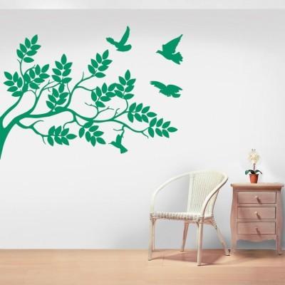 Φύση Δέντρα - Λουλούδια Αυτοκόλλητα τοίχου 40 x 55 cm