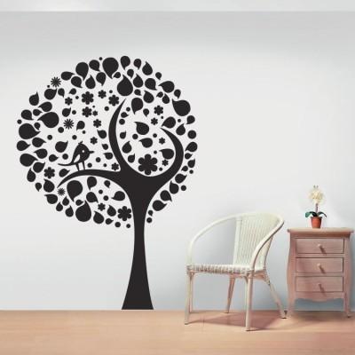 Ανοιξιάτικο δέντρο, Δέντρα - Λουλούδια, Αυτοκόλλητα τοίχου