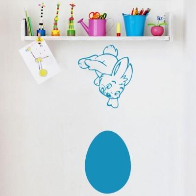 Λαγουδάκι με αυγό, Πασχαλινά, Αυτοκόλλητα βιτρίνας