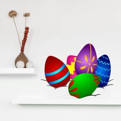 Πασχαλινά αυγά, Πασχαλινά, Αυτοκόλλητα βιτρίνας