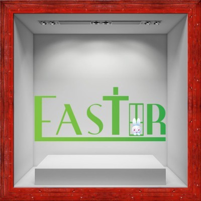 Easter, Πασχαλινά, Αυτοκόλλητα βιτρίνας