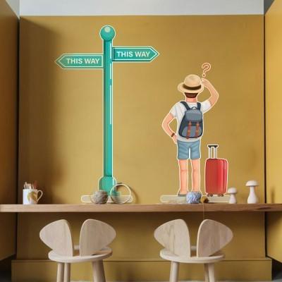 This way, Πόλεις, Αυτοκόλλητα τοίχου