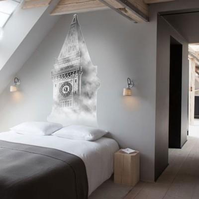 Ρολόι Big Ben, Πόλεις, Αυτοκόλλητα τοίχου