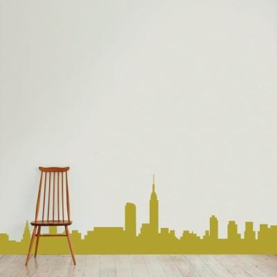 Πόλη, Πόλεις, Αυτοκόλλητα τοίχου