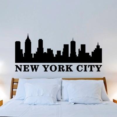 New York city, Πόλεις, Αυτοκόλλητα τοίχου