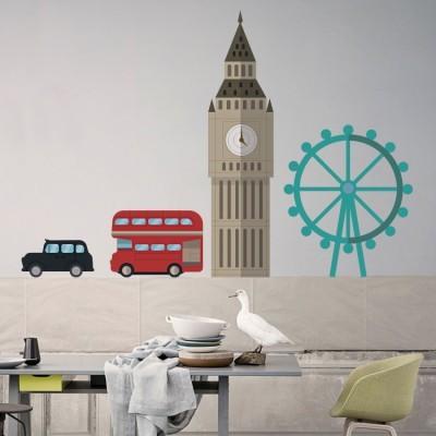 Λονδίνο, Πόλεις, Αυτοκόλλητα τοίχου